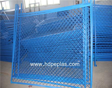 Hot sale artificial pe material playground rail