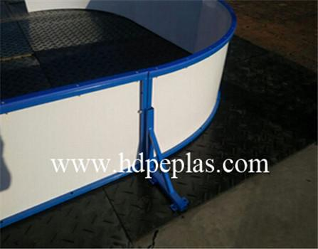 pp floorball rink dasher board | ice rink barrier