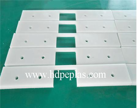 Anti-slide UHMWPE scrape blade/UHMWPE Conveyor Paddle/conveyor flights