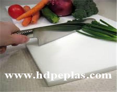 Customized polyethylene plastic UHMWPE cutting board/HDPE chopping board