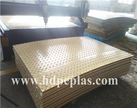 Made In China HDPE temporary floor mats