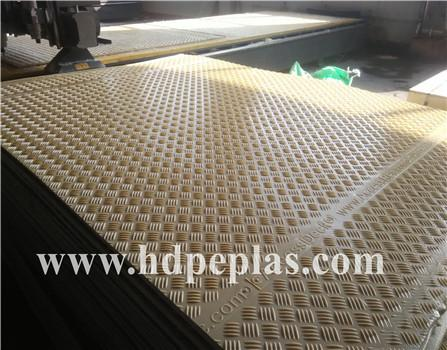 Extruted HDPE temporary plastic road mat