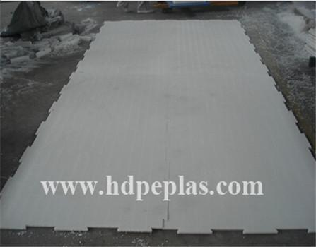 hard plastic white hdpe sheet used for skating rink