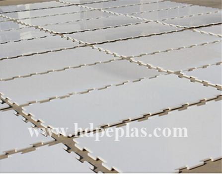 15mm polyethylene sheet/high wear plastic board/skating rink