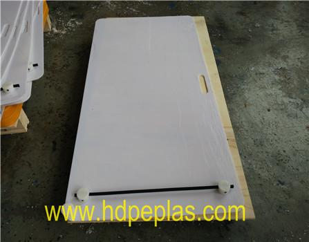 High quiality uhmwpe Hockey skill shooting pad. HDPE Soccer rebounder board.