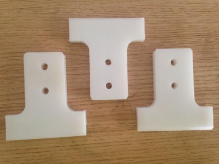 Colored anti-wear black plastic hdpe sheet for wear blocks