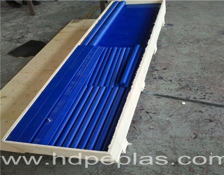 Engineered plastic products white polyethylene hdpe ldpe pe welding plastic rod