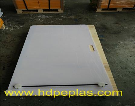 High quality hdpe plate Custom board hockey shooting pad
