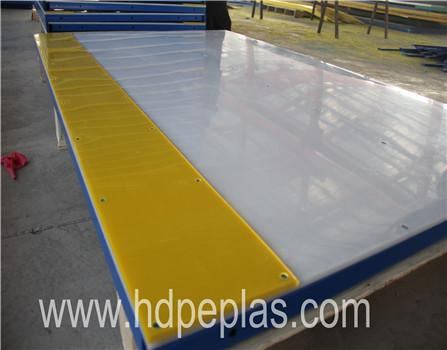 skating fencing barrier,uhmwpe ice skating rink,hdpe hockey dasher board