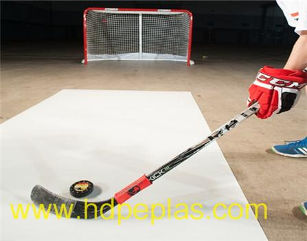 HDPE synthetic ice shooting pad