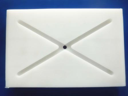 Anti-static HDPE Wear Block