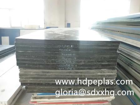 Anti-UV UHMWPE texture plastic sheet