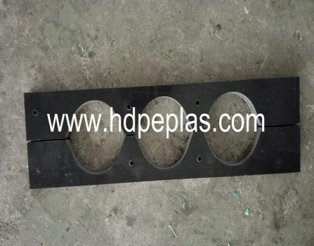 uhmwpe or hdpe cable support block