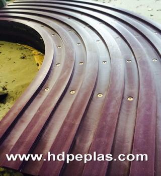 polyethylene pe1000 guide rail for conveyor components