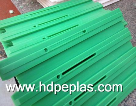 uhmwpe/hdpe chain guide rail /polyethylene uhmw chain guides