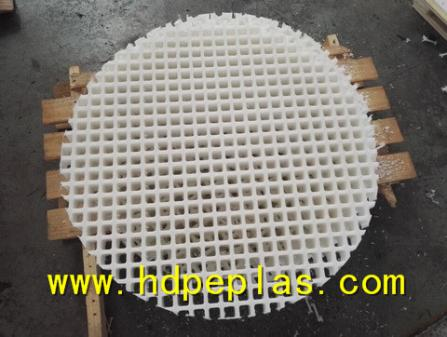 HDPE UHMWPE Plastic Grille for oil tank filtration