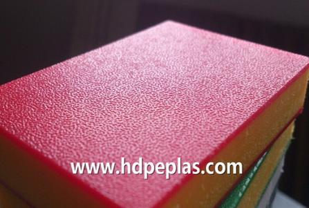 High quality Sandwich 3 layer HDPE double color plastic sheet