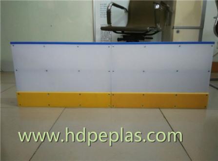 Ice hockey rink arena fender /dasher board system/ hockey rink barrier