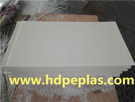 White waterproof HDPE sheet