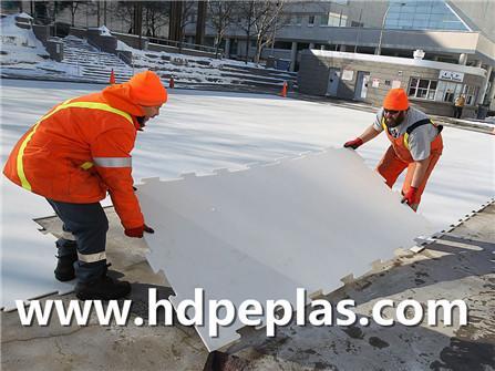 High Density polyethylene Synthetic ice