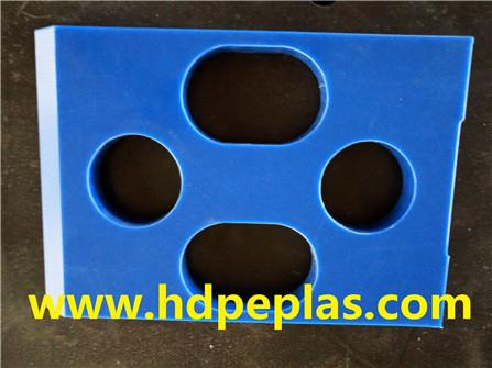 UHMWPE/HDPE for abrasion resistant machinery parts