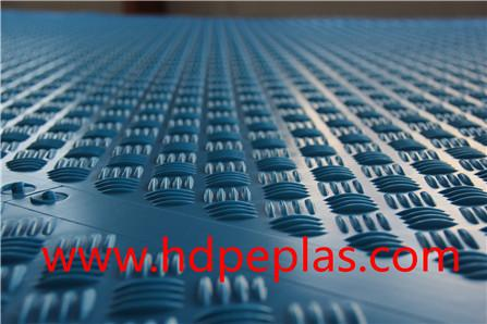 popular blue color HDPE ground protection anti slip mats