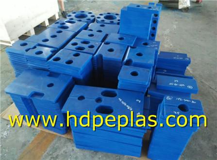 Blue UHMWPE/HDPE EXCAVATOR.Parts