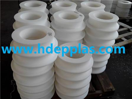 UHMWPE ROLLER SLEEVE for main hoist support roller at catenary platform