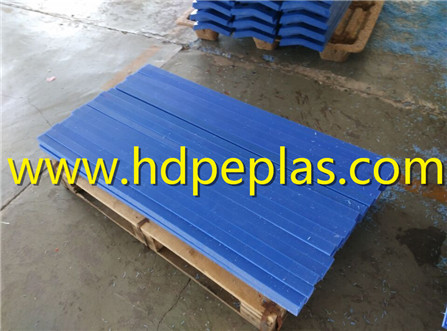 Blue UHMW-PE Wear strips