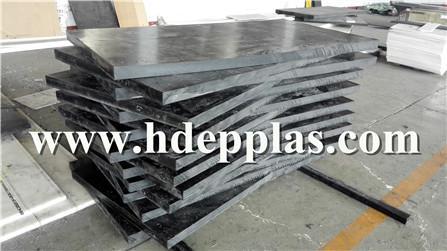 Radiation shielding borated polyethylene sheet