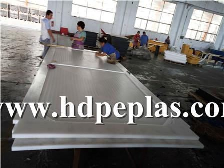 White UHMWPE machined Parts