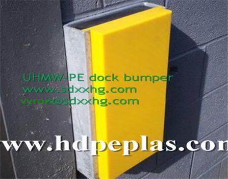 UHMWPE sliding dock bumper