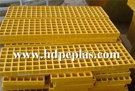 FRP Plastic Floor Grid UHMWPE mmaterial