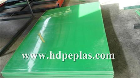 Green polyethylen sheets with protection film