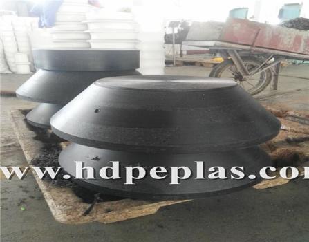 UHMWPE/HDPE wear resistant block