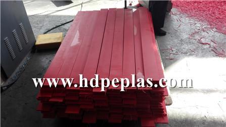 customized uhmwpe sheet cnc machined wearing strip