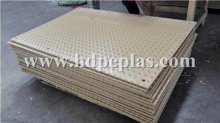 Brown Ground protection mats