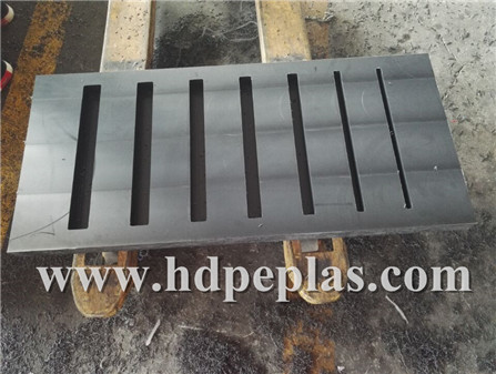 custom Non-toxic clean property uhmw plastic block