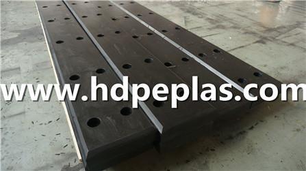 High quality UHMW-PE marine rubber fender pad