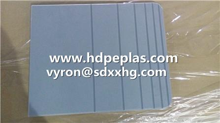 Grey Color Texture HDPE sheet with CNC machining