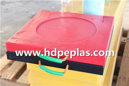 HDPE/UHMWPE Crane Outrigger Stabilizer Pad,Outrigger Mats