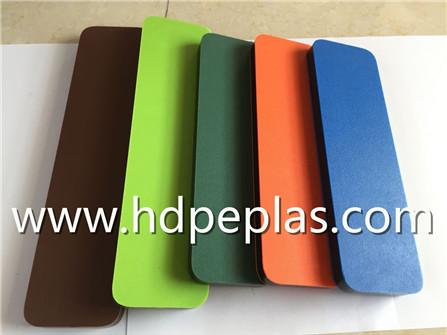 Customized dual color hdpe texture sheet/panel/board