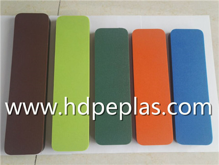 Dual color hdpe texture sheet/panel/board