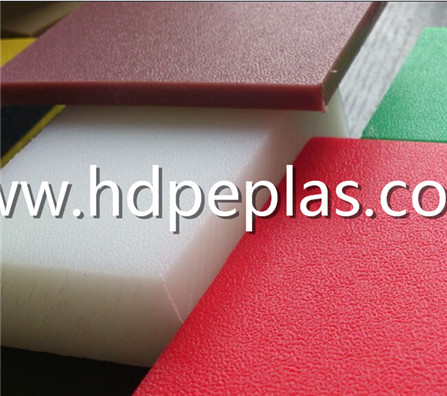 UV resist HDPE texture board / colour hdpe board