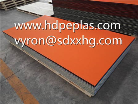 Orange/Black/Orange dual colour texture engraving plastic board