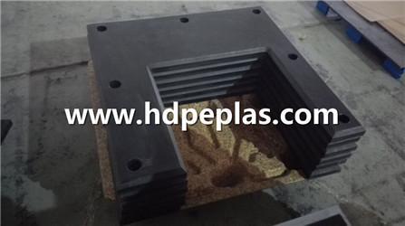 UV-resistance black color corner OEM fender pad