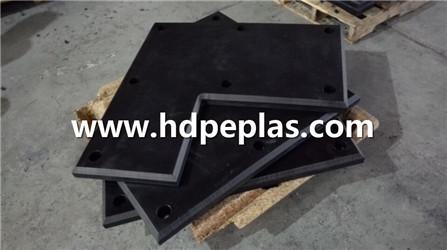 Wear resistant & anti imapct marine fender pad