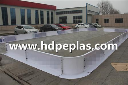 PP material Mini floor ball barrier fence dasher boards
