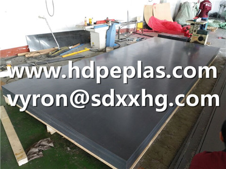 5000*2000*20mm thickness UHMWPE liner sheet