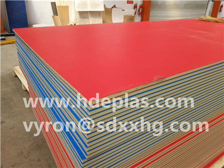 hdpe textured ABA color sheet for children playground